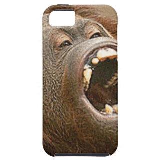 間抜けなオランウータン iPhone SE/5/5s ケース