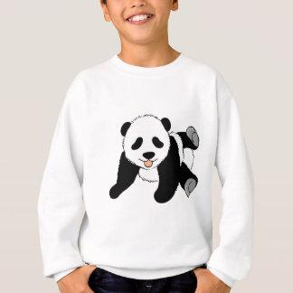 間抜けなパンダ スウェットシャツ
