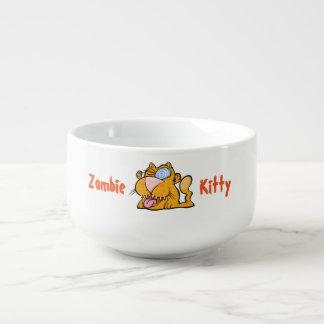 間抜けなモンスターのゾンビの子猫スープマグ スープマグ