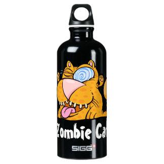 間抜けなモンスターのゾンビ猫のカスタムの旅行者 ウォーターボトル