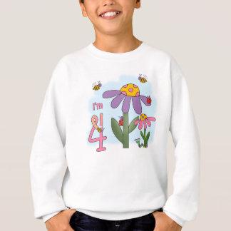 間抜けな庭の第4誕生日 スウェットシャツ