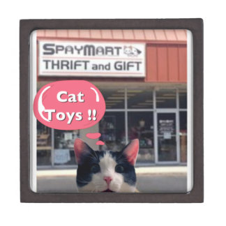 間抜けな猫のおもちゃ! ギフトボックス