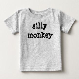 間抜けな猿 ベビーTシャツ