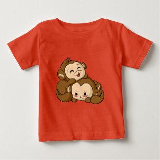 間抜けな猿! ベビーTシャツ