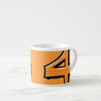 間抜けな第4オレンジのエスプレッソのマグ エスプレッソカップ