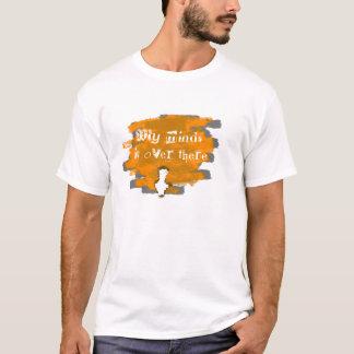 間接下り回線のオレンジ Tシャツ