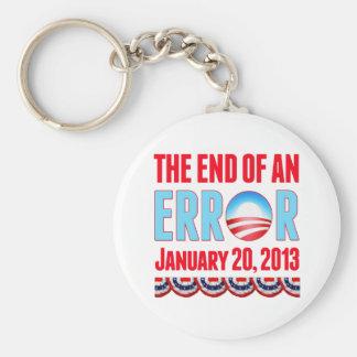 間違い2013年1月20日の終わりオバマ キーホルダー