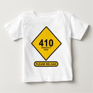 間違い410: 行く民主主義 ベビーTシャツ