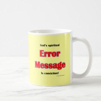 間違い メッセージ コーヒーマグカップ