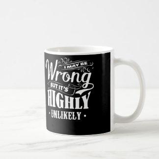 間違うそれはほぼ不可能です。 コーヒーマグカップ