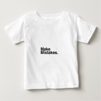 間違えて下さい ベビーTシャツ