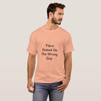 間違った人のTシャツで選ばれるFibro Tシャツ