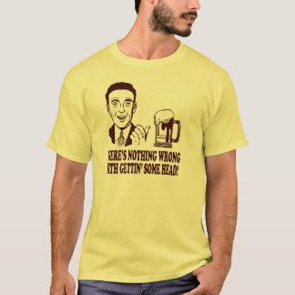 間違って何もGETTINGと頭部ありません! Tシャツ