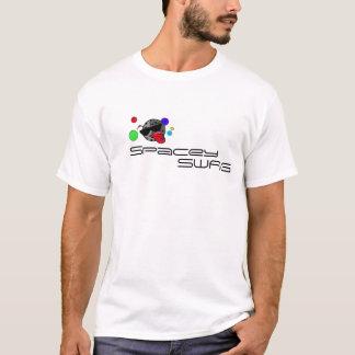 間隔をあけること Tシャツ