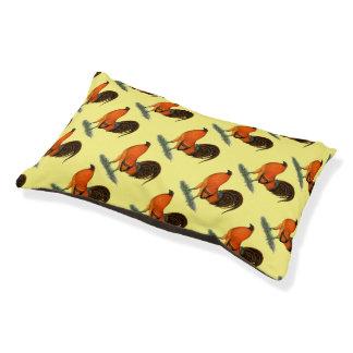 闘鶏のショウガの赤のオンドリ