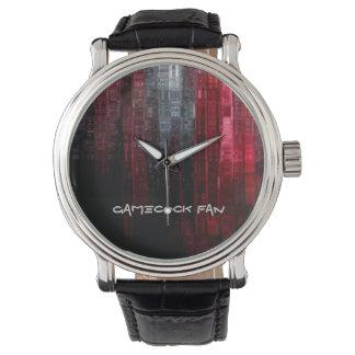 闘鶏ファン 腕時計