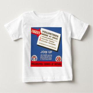 防衛のフィラデルヒィア議会は今は結合します ベビーTシャツ