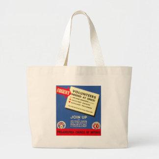 防衛のフィラデルヒィア議会は今は結合します ラージトートバッグ