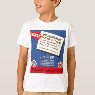 防衛のフィラデルヒィア議会は今は結合します Tシャツ