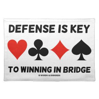 防衛はです橋(カードスーツ)の勝利に主 ランチョンマット