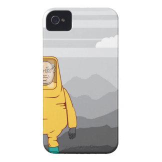 防護服の絵 Case-Mate iPhone 4 ケース