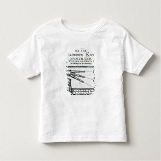 降りるFrontispieceの自信; 天文学者 トドラーTシャツ
