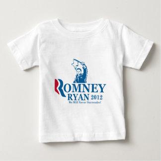 降伏のオバマの白旗 ベビーTシャツ