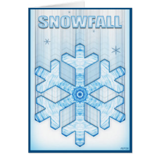 降雪 カード