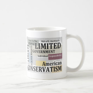 限られた政府 コーヒーマグカップ