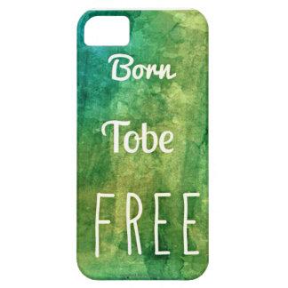 [限られる] Tobeの生まれる自由iPhone 5/5S、 iPhone SE/5/5s ケース