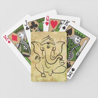 """限定版の""""Ganesha""""の自転車カード バイスクルトランプ"""