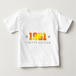 限定版1961の誕生日 ベビーTシャツ