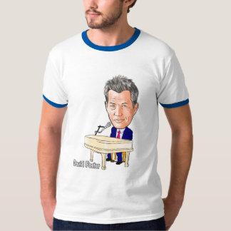 限定版-デイヴィッド・フォスターの風刺漫画 Tシャツ