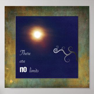 限界がありません ポスター