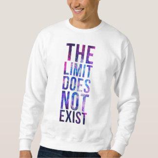 限界はありません スウェットシャツ