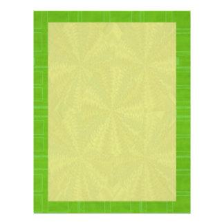 陰の緑-あなたの単語nのイメージを加えて下さい レターヘッド