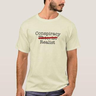 陰謀の現実主義者 Tシャツ