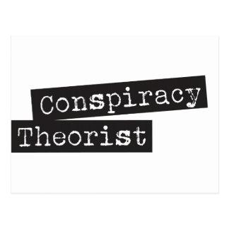 陰謀の理論家 ポストカード