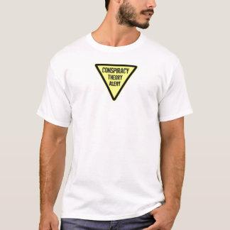 陰謀論警報 Tシャツ