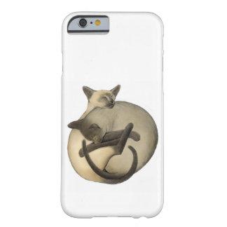 陰陽のシャム猫のiPhone6ケース Barely There iPhone 6 ケース