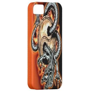 陰陽のドラゴンのiPhone 5の場合 iPhone SE/5/5s ケース