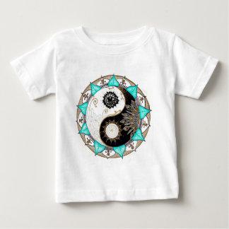陰陽の曼荼羅 ベビーTシャツ