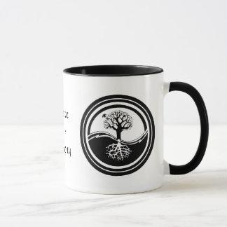 陰陽の木の~のバランスのマグ マグカップ