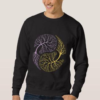 陰陽の木 スウェットシャツ