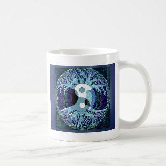 陰陽の生命の樹 コーヒーマグカップ