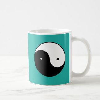 陰陽の記号 コーヒーマグカップ