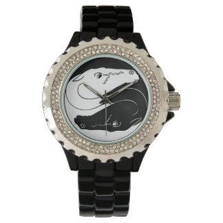 陰陽の馬の腕時計 腕時計