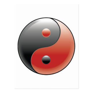 陰陽の~の中国のな道教の哲学 ポストカード