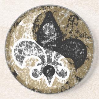 陰陽の(紋章の)フラ・ダ・リのコースター コースター