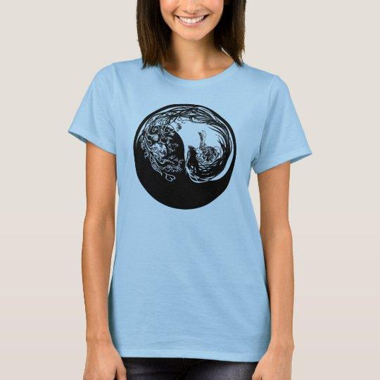 陰陽ガール Tシャツ
